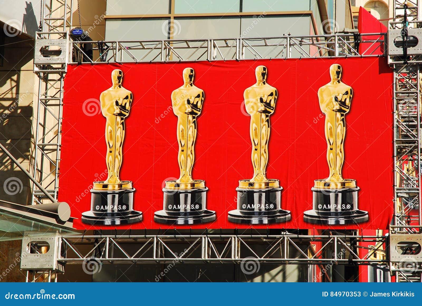 Oscars baner, Hollywood