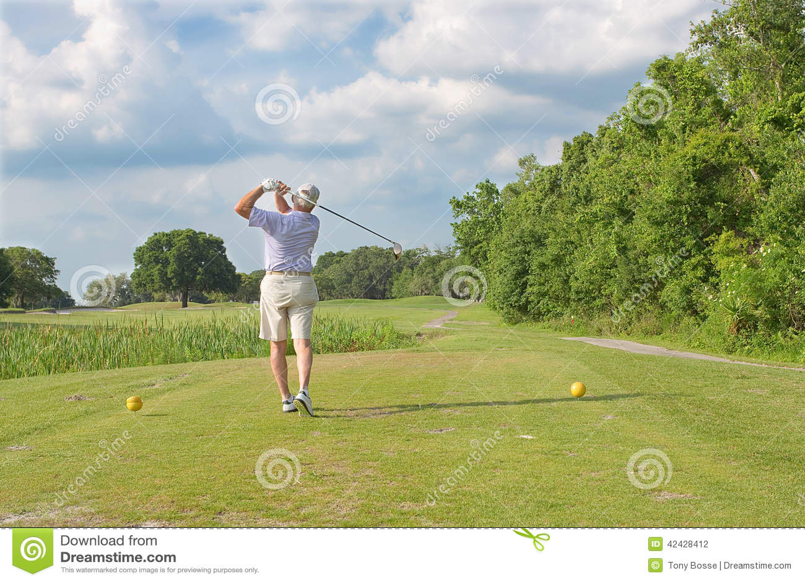Oscilación del golf