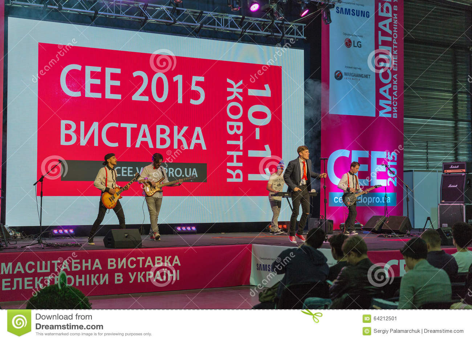 Oscile el funcionamiento en la ECO 2015, la feria profesional más grande de la electrónica de Ucrania