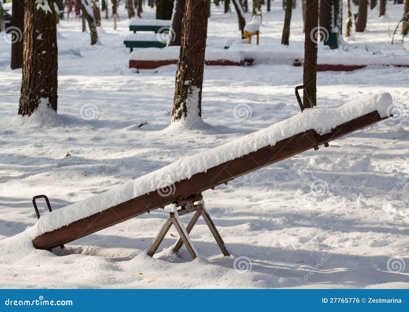 Oscillation en stationnement de l hiver