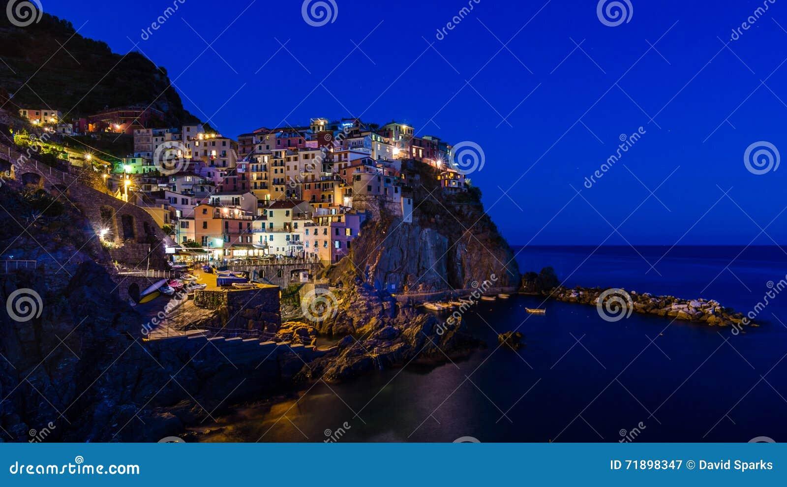 Oscuridad en Manarola, Cinque Terre