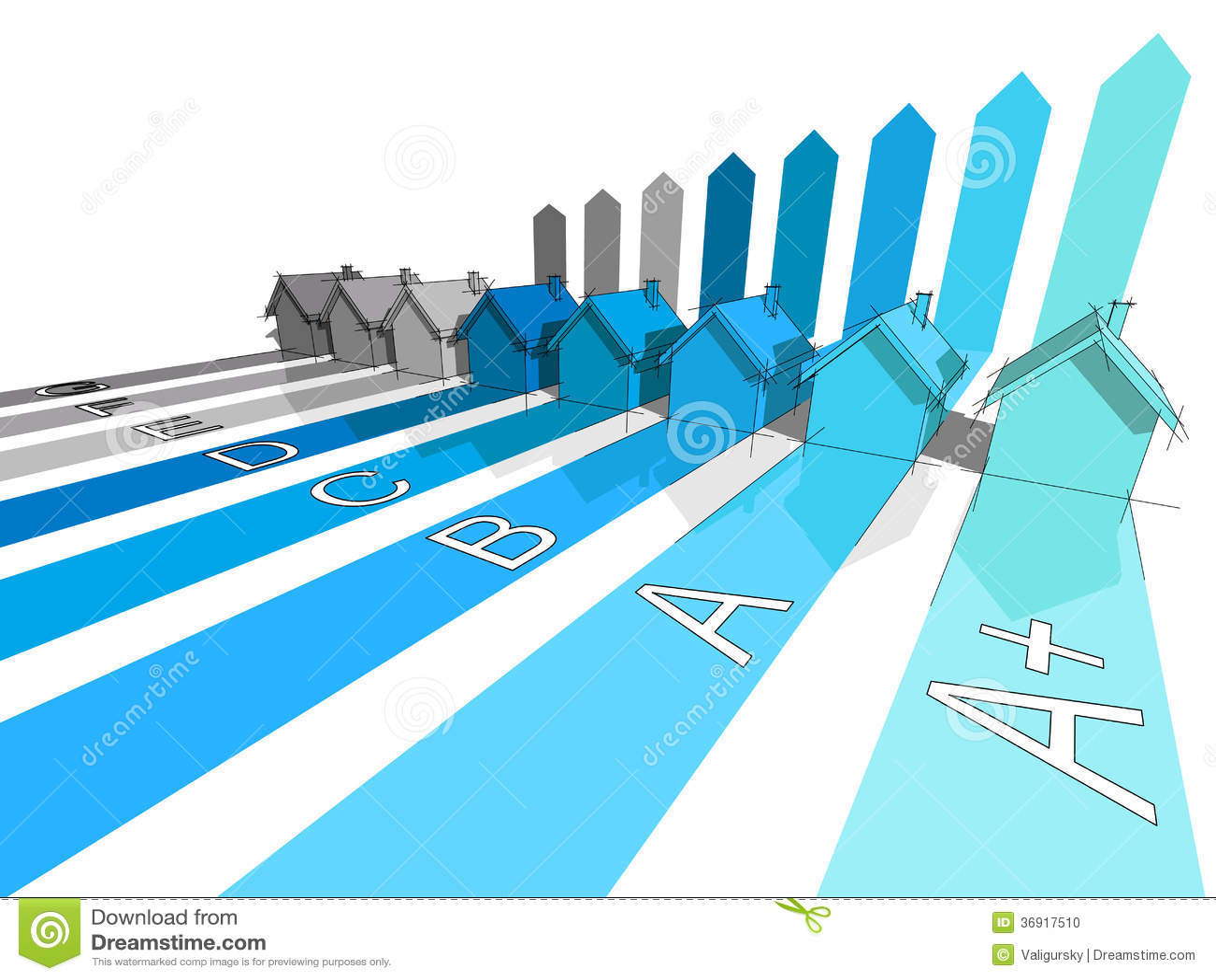 Osiem domów