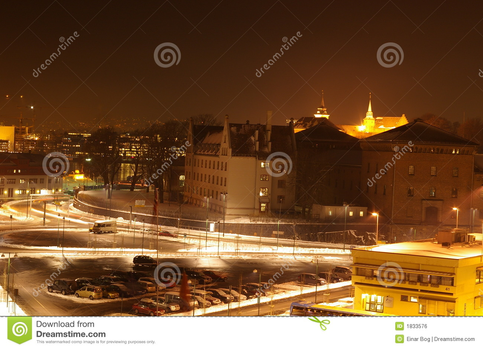 Oslo em Noite