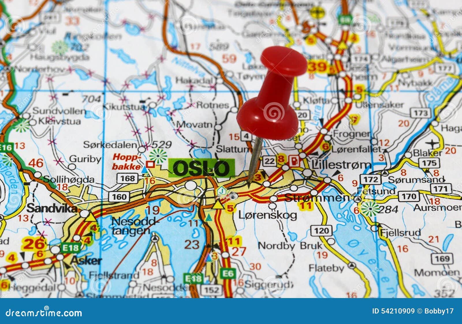 Oslo Stock Photo Image 54210909