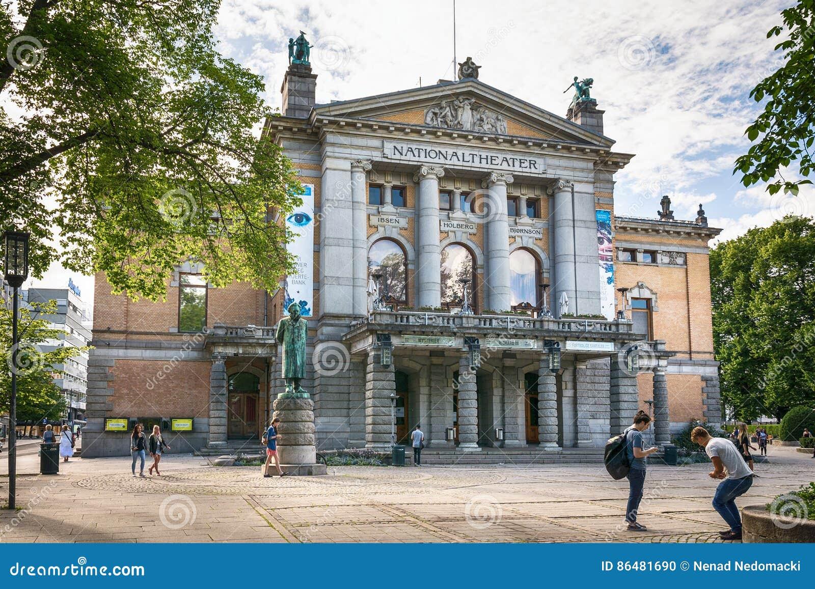 Oslo Nationaltheatret Krajowy teatr
