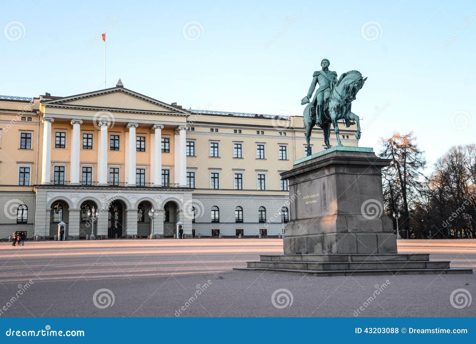 Download Oslo slottkunglig person arkivfoto. Bild av royal, johan - 43203088