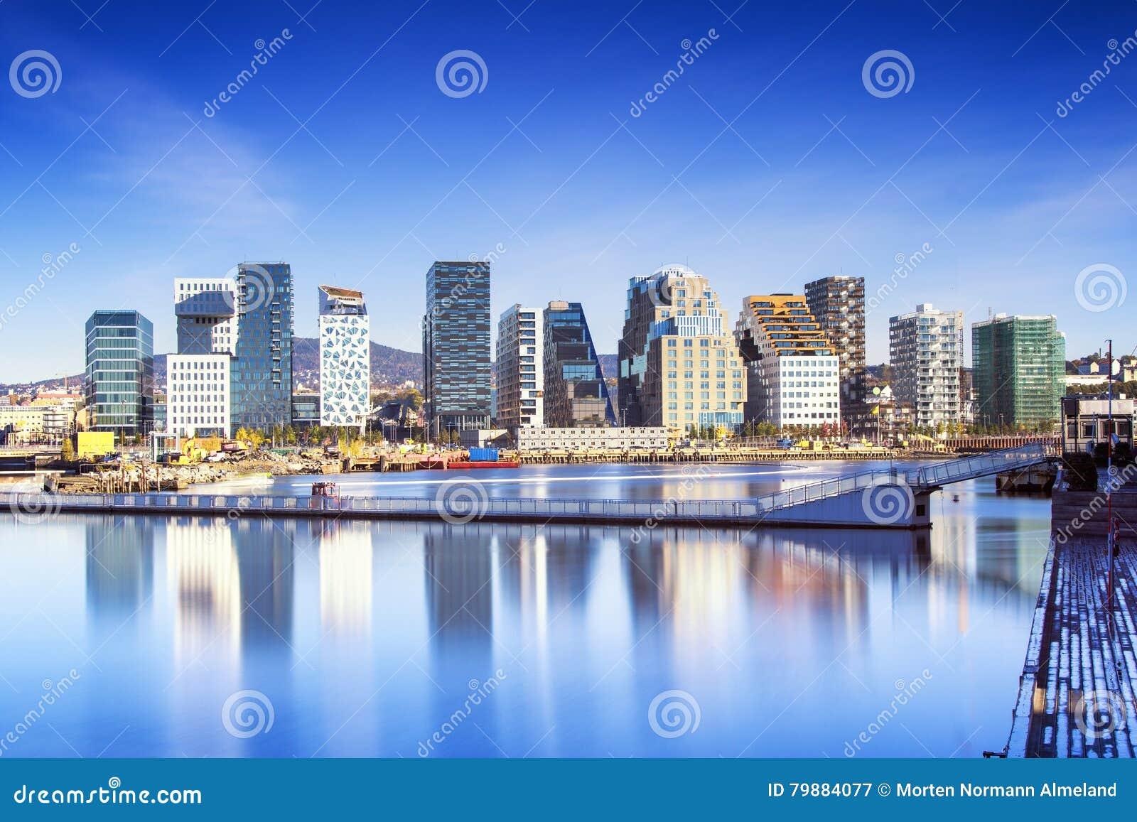 Oslo som är i stadens centrum, Bjoervia Norge