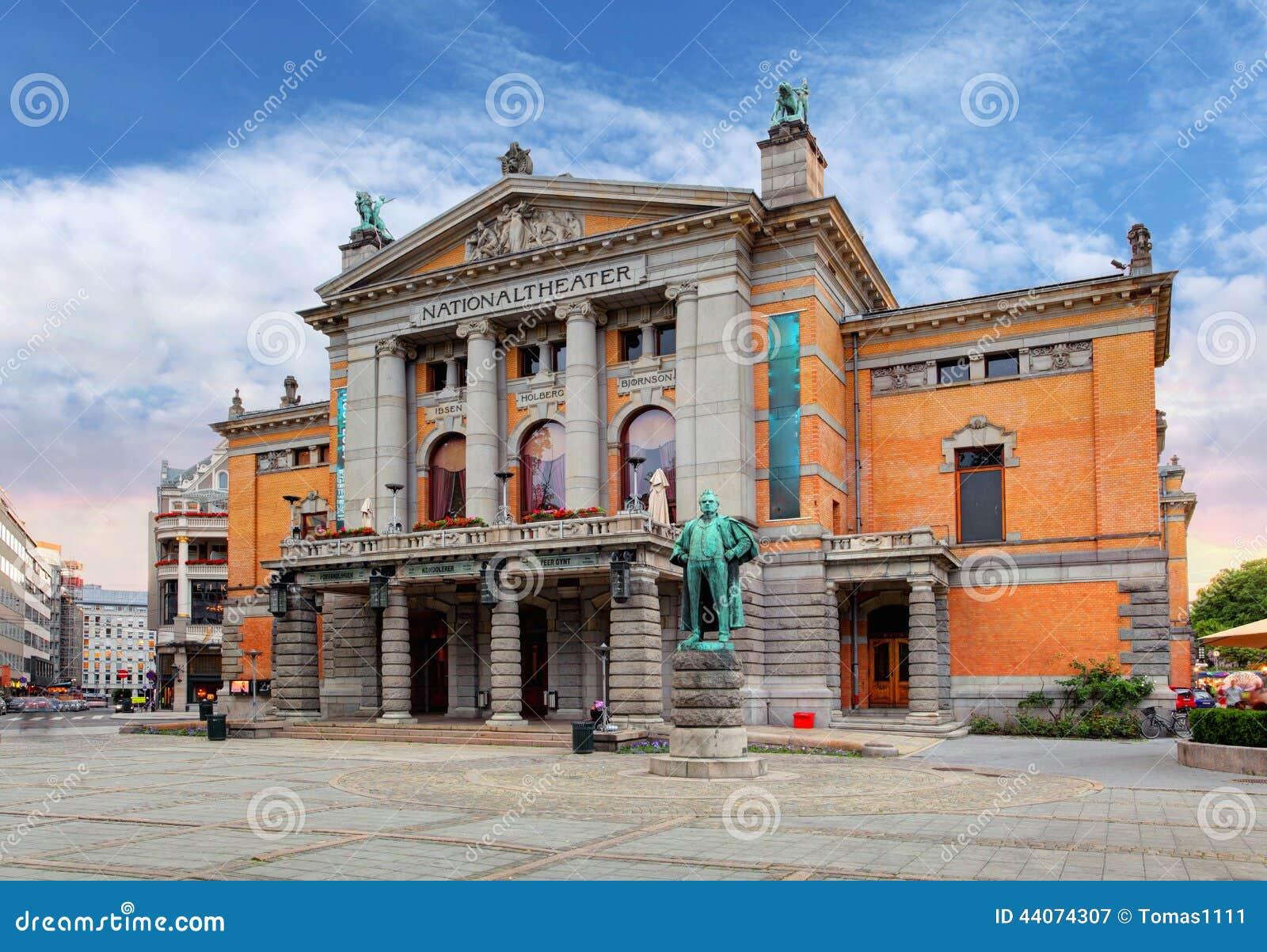 Oslo teatr narodowy, Norwegia