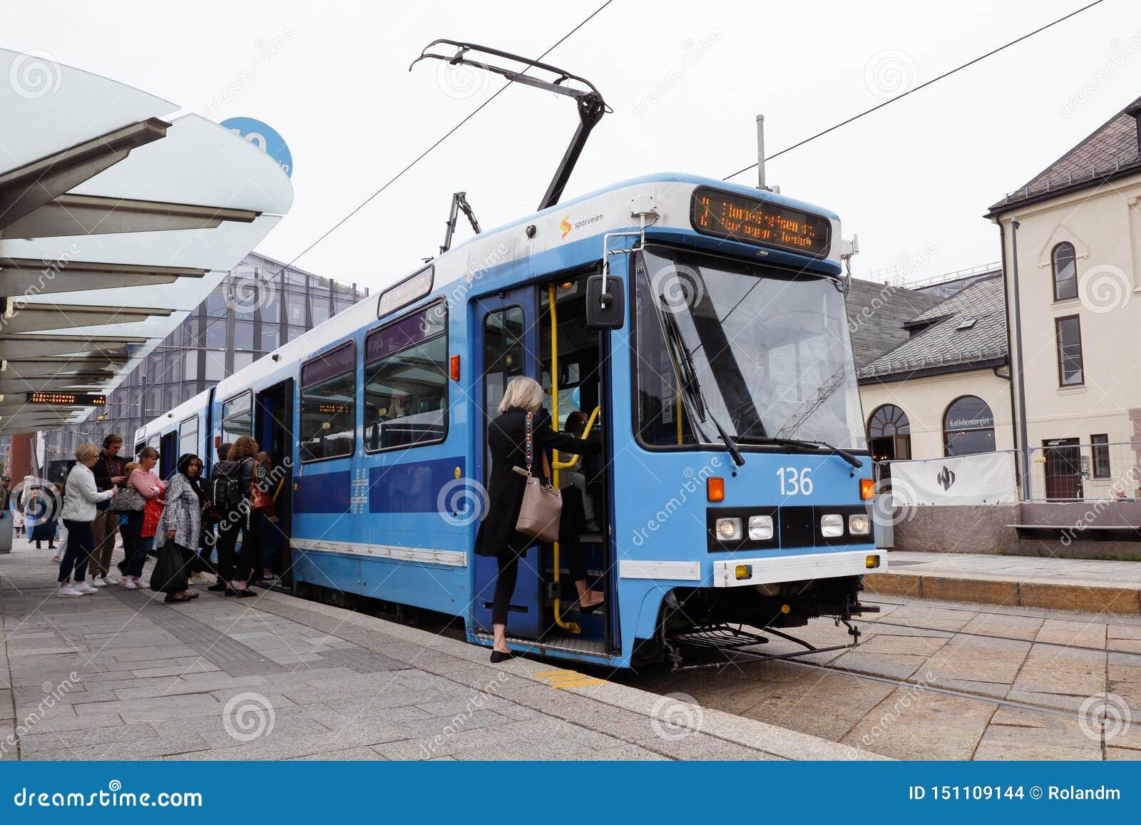 Oslo tram class SL79