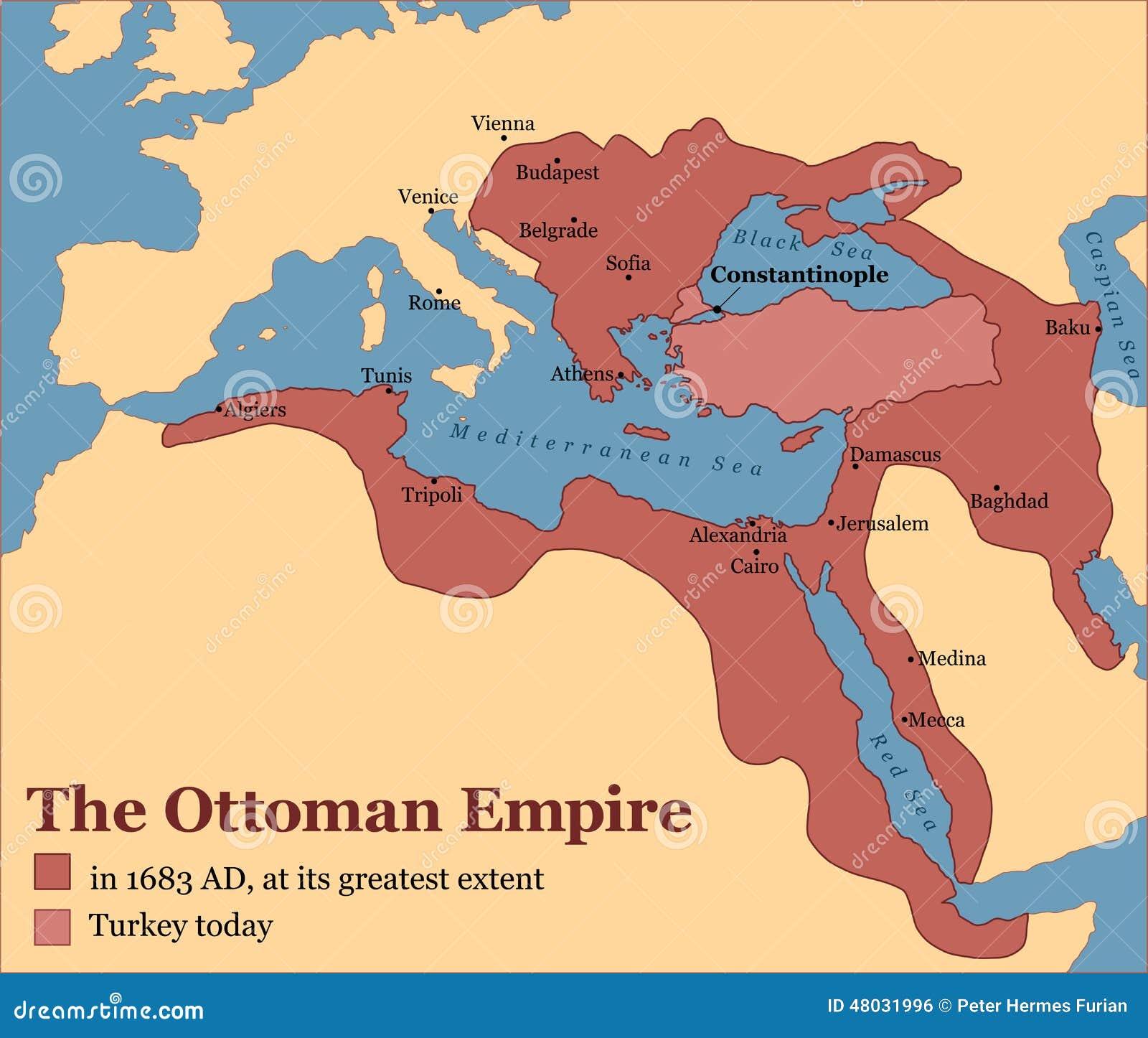 Osmański imperium Turcja