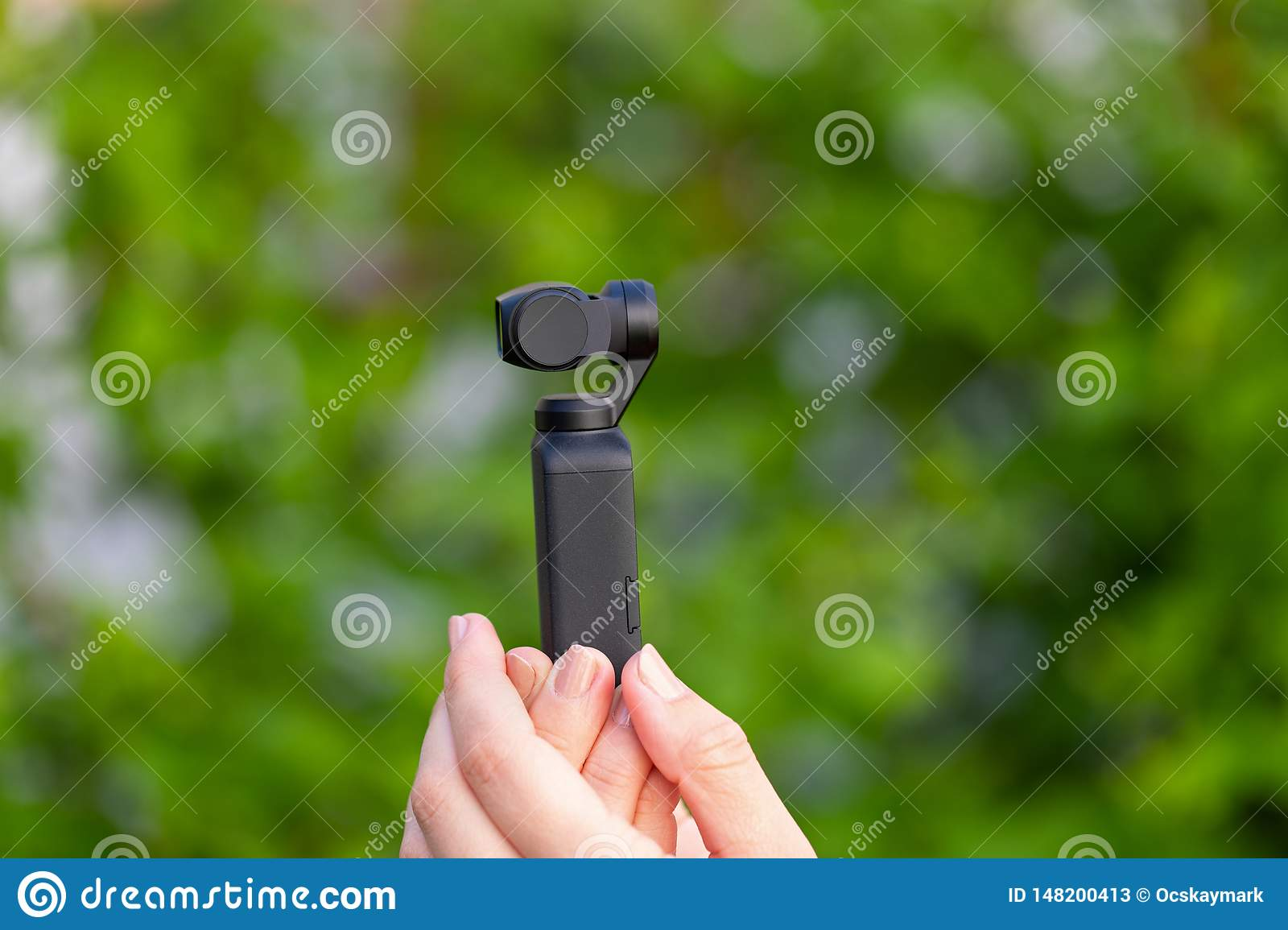 Osmo Photo And Video Camera Stock Image Image Of Background Entertainment 148200413