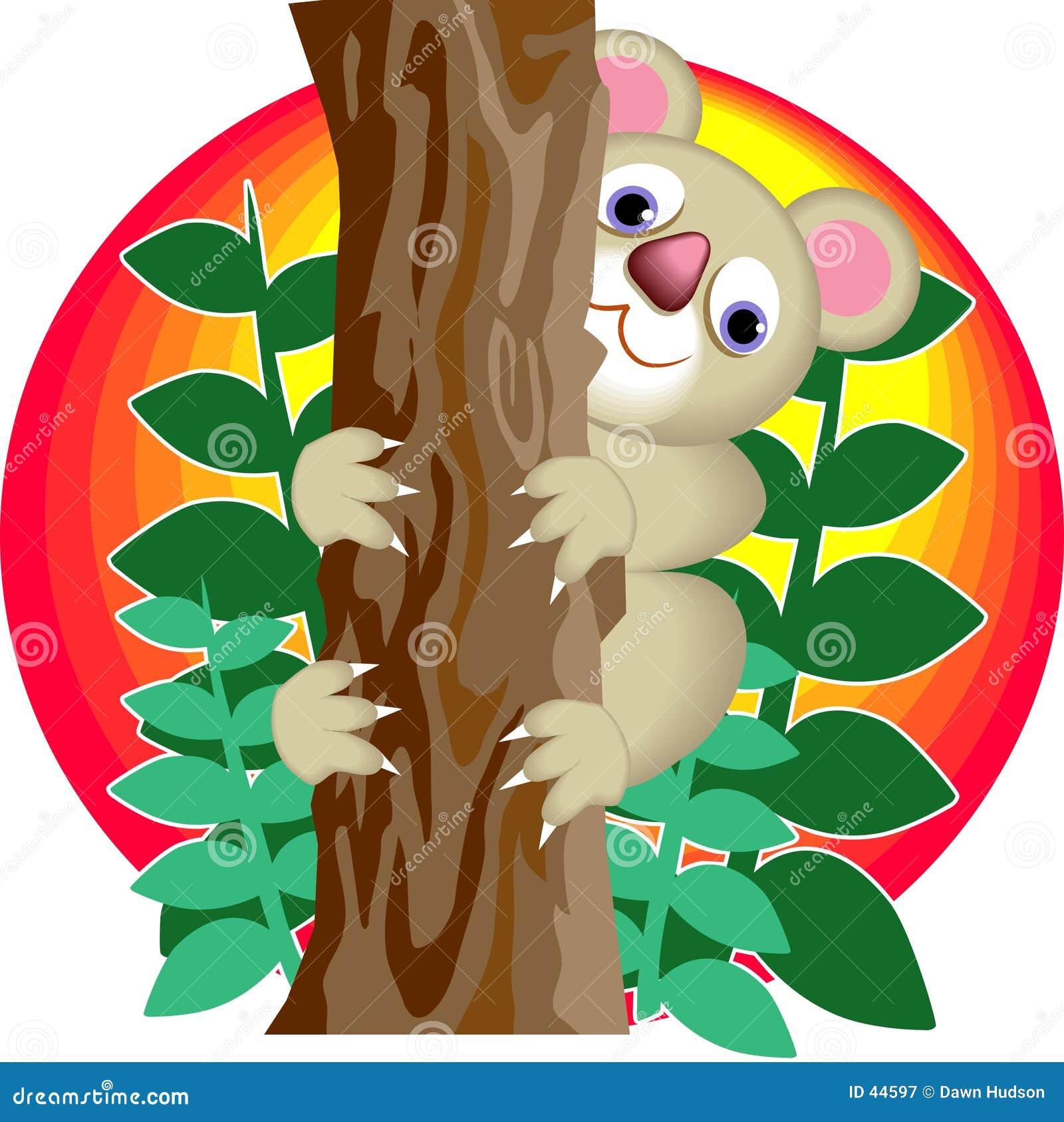 Download Oso de Koala ilustración del vector. Ilustración de árboles - 44597