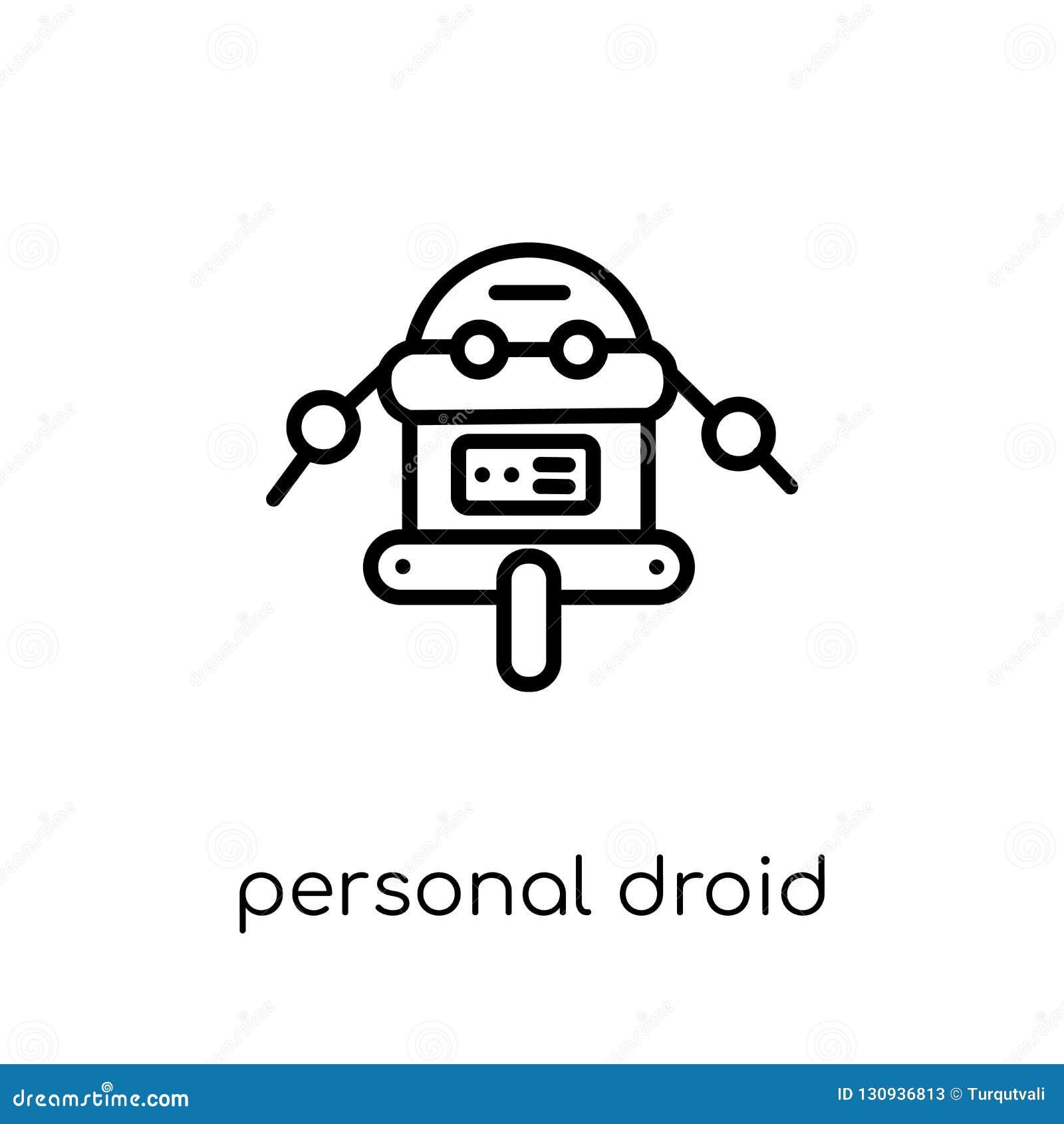 Osobista droid ikona