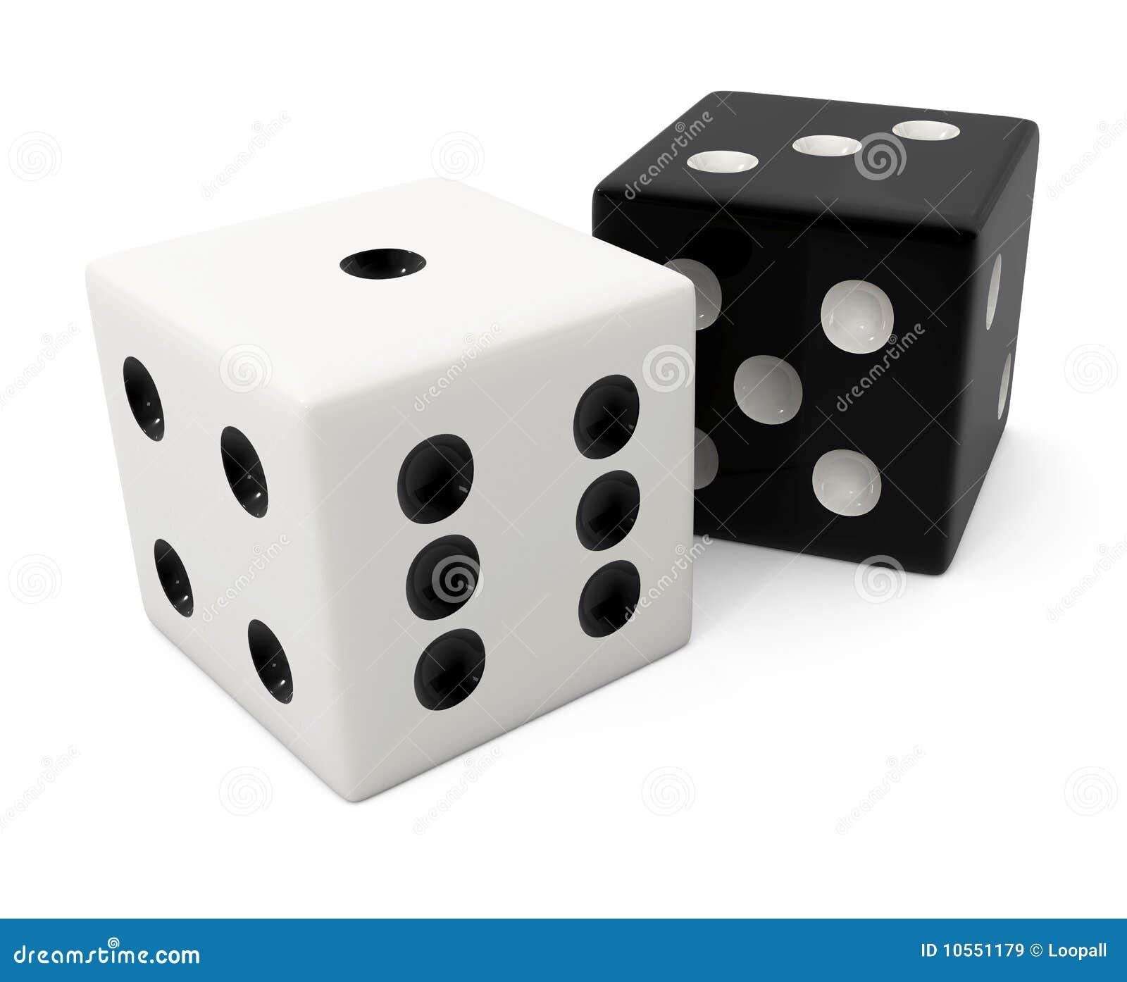 osso bianco di conquista falso per il gioco dei dadi