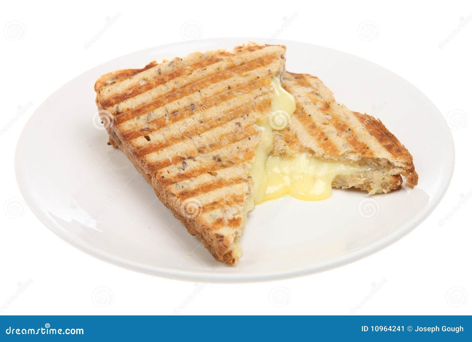 Ost pressande smörgåsrostat bröd