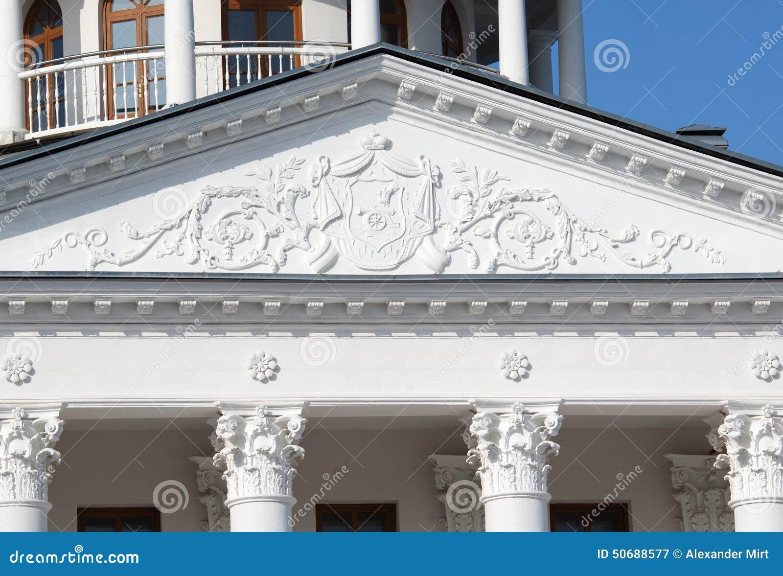 Download Ostafievo庄园建筑学细节 库存图片. 图片 包括有 俄国, 详细资料, 庄园, 屋顶, 拱道, 视窗 - 50688577