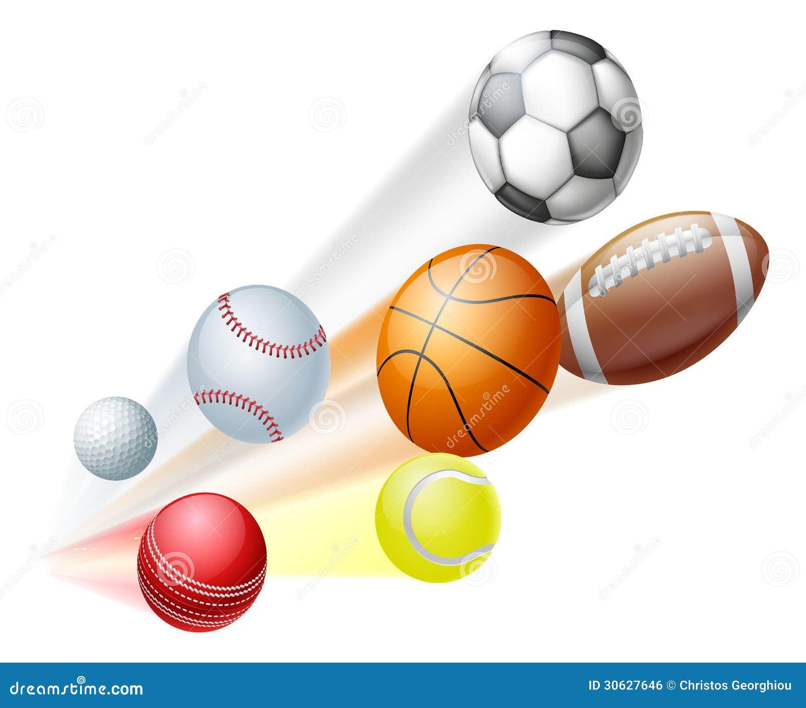 Ostenta o conceito das bolas