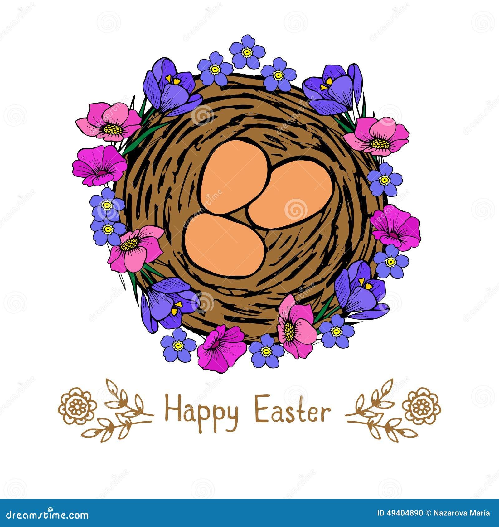 Download Ostern stock abbildung. Illustration von adorable, getrennt - 49404890