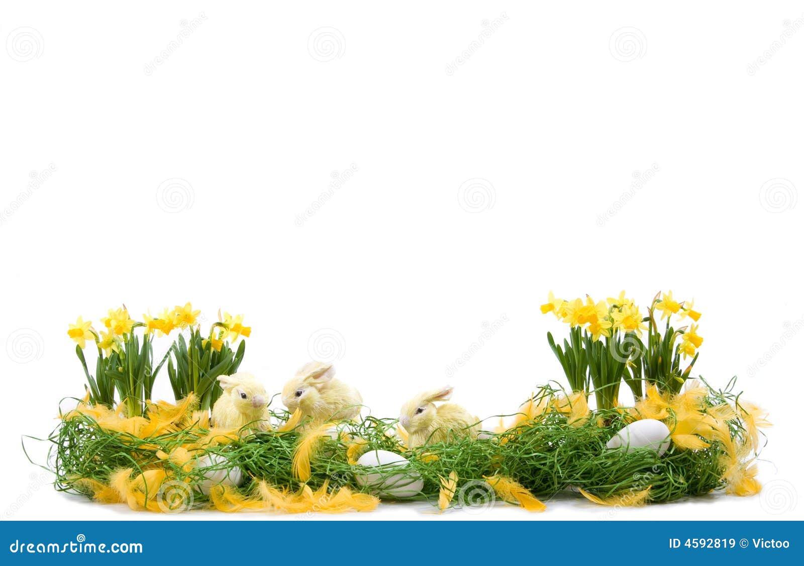 Ostern Dekoration Lizenzfreie Stockbilder Bild 4592819