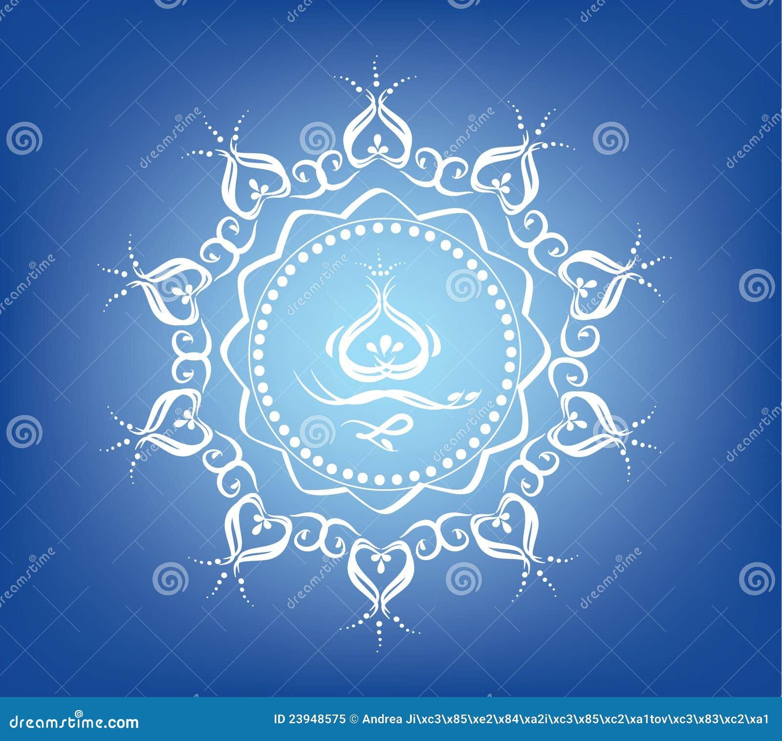 Ostern Mandala Stock Abbildung Illustration Von Blume 23948575