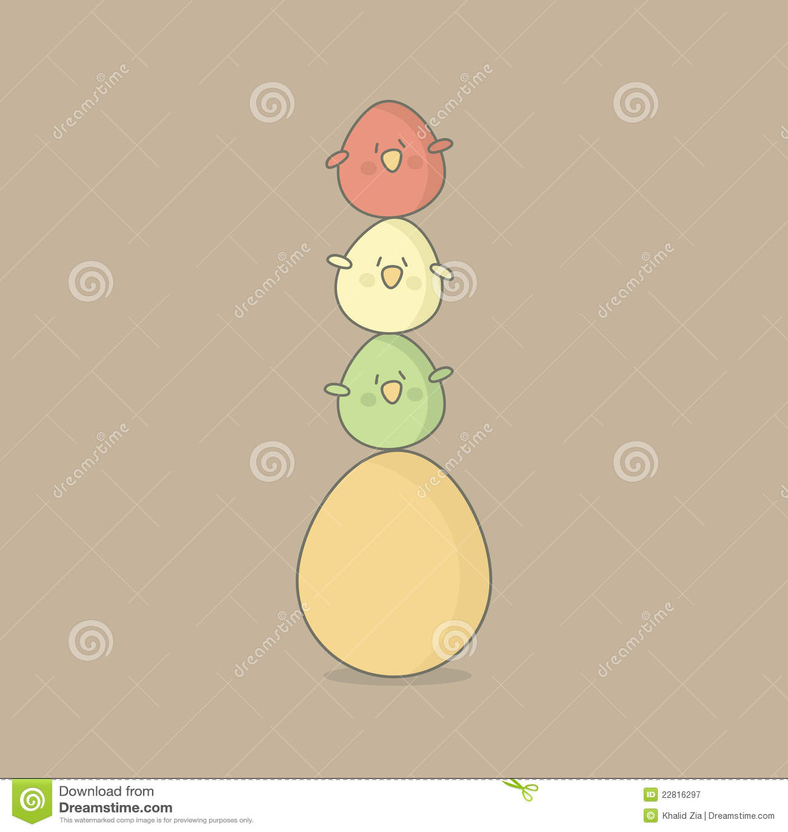 Ostern-Vogeleier