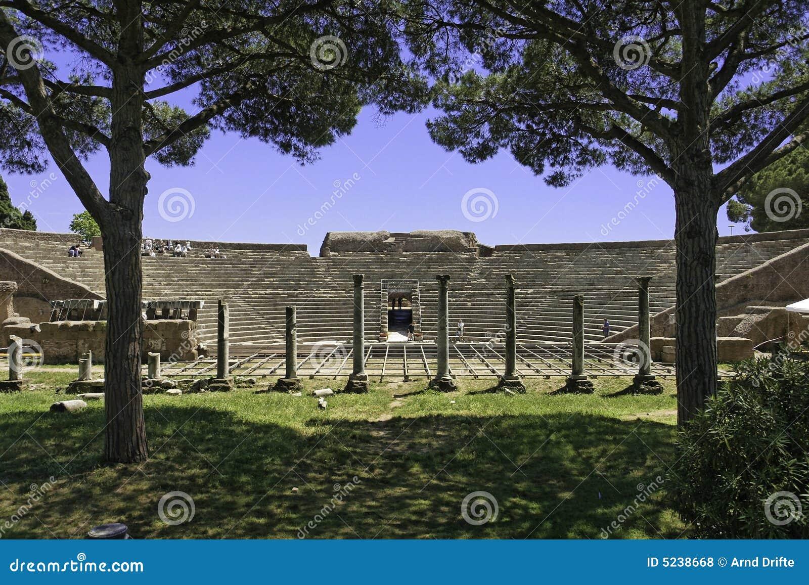 Ostia Antica Ruins Royalty Free Stock Photo Image 36144635 Mr
