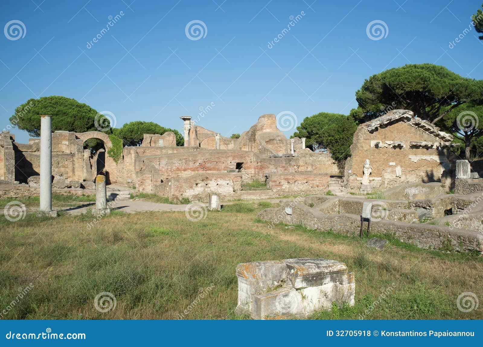 Ostia antica in rome royalty free stock photos image for Mr arredamenti ostia antica