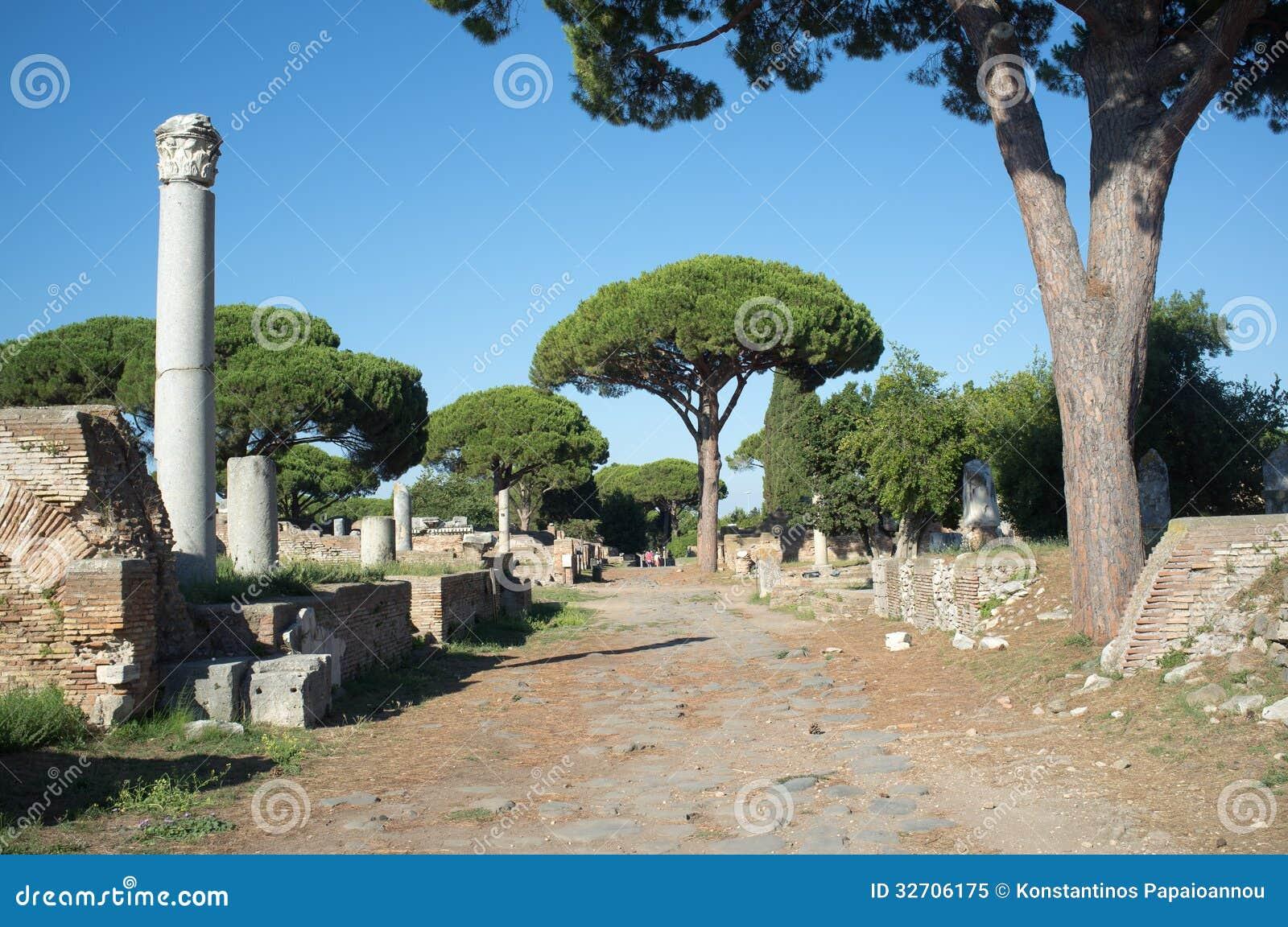 Ostia antica in rome royalty free stock photo image for Mr arredamenti ostia antica