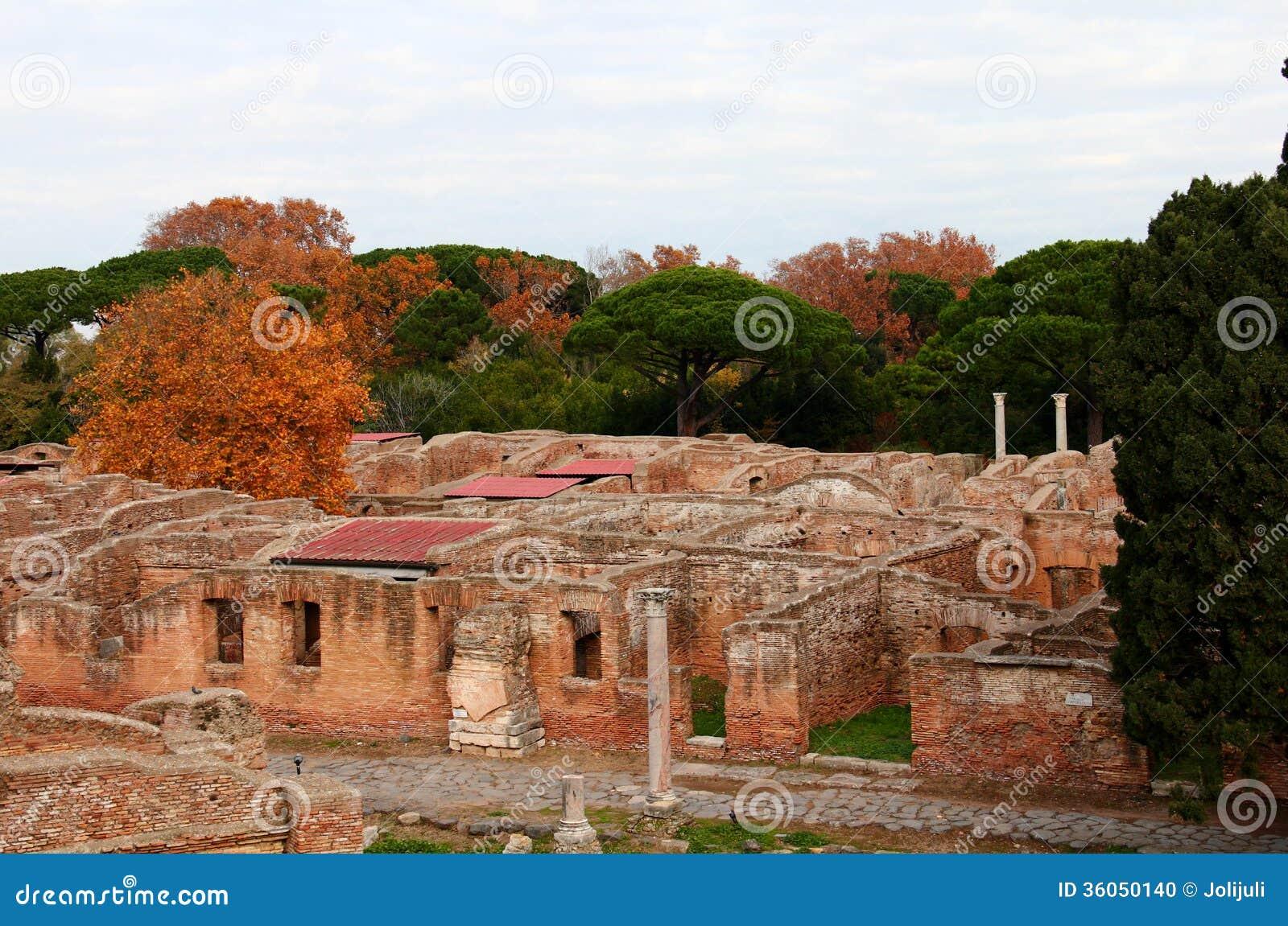 Ostia antica ruins stock photo image 36050140 for Mr arredamenti ostia antica