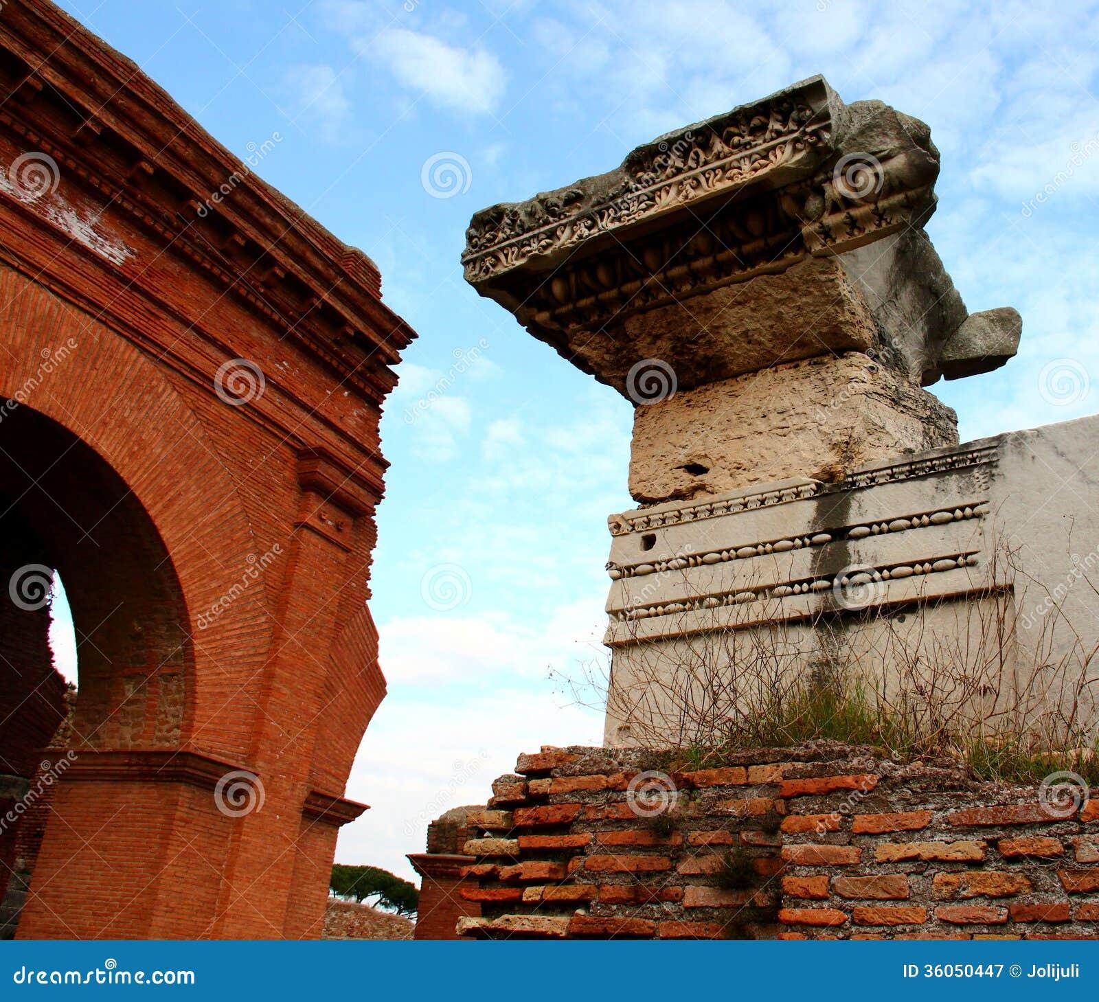 Ostia antica ruins royalty free stock photography image for Mr arredamenti ostia antica