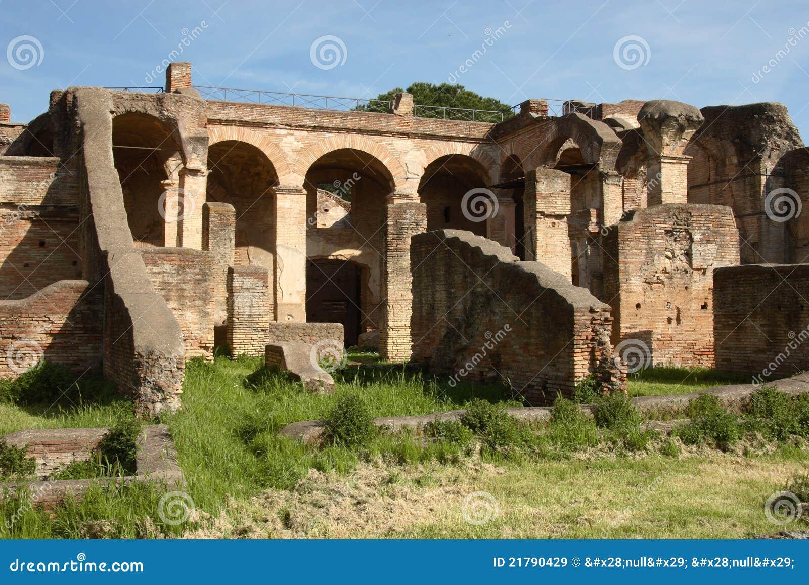 Ostia antica 39 s ruins royalty free stock images image for Mr arredamenti ostia antica