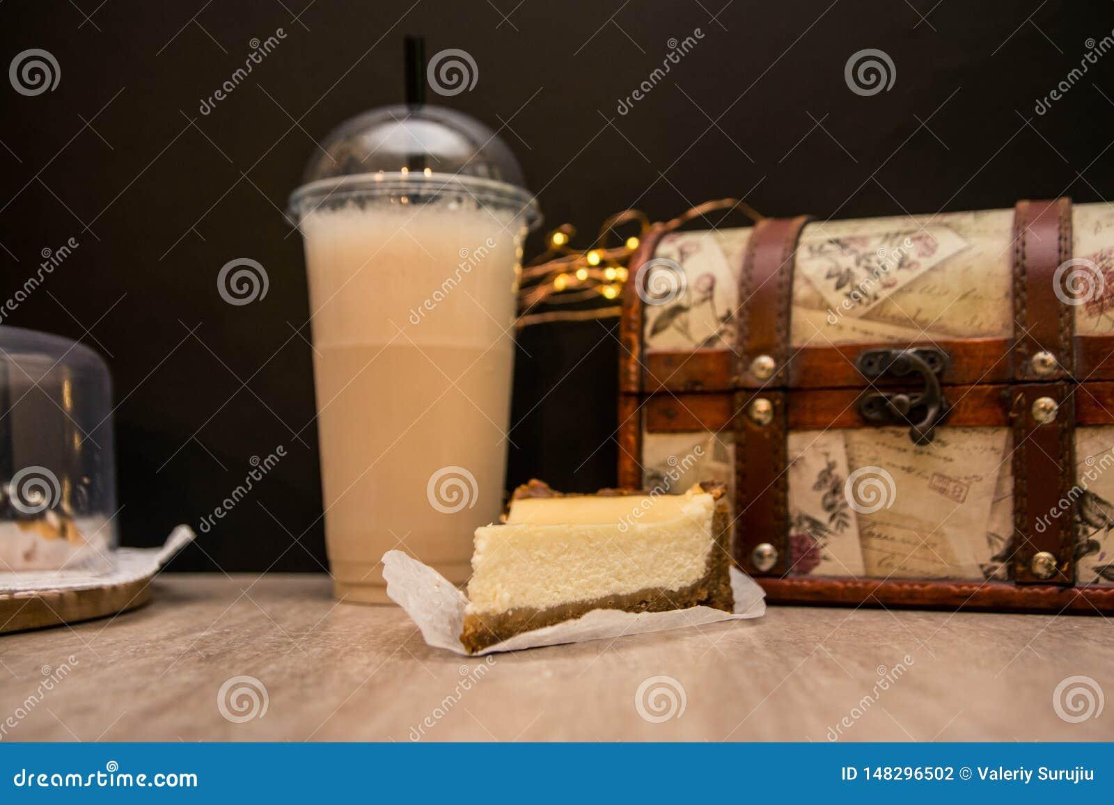 Ostkaka och milkshake