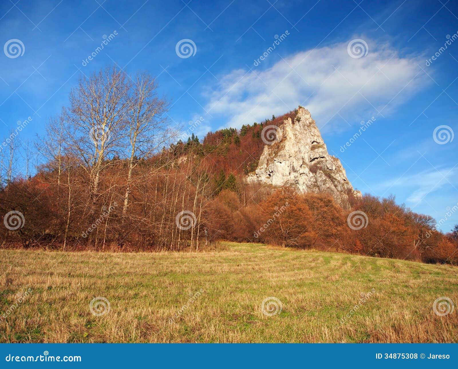 Ostra Skala, Vysnokubinske Skalky, Slovakia