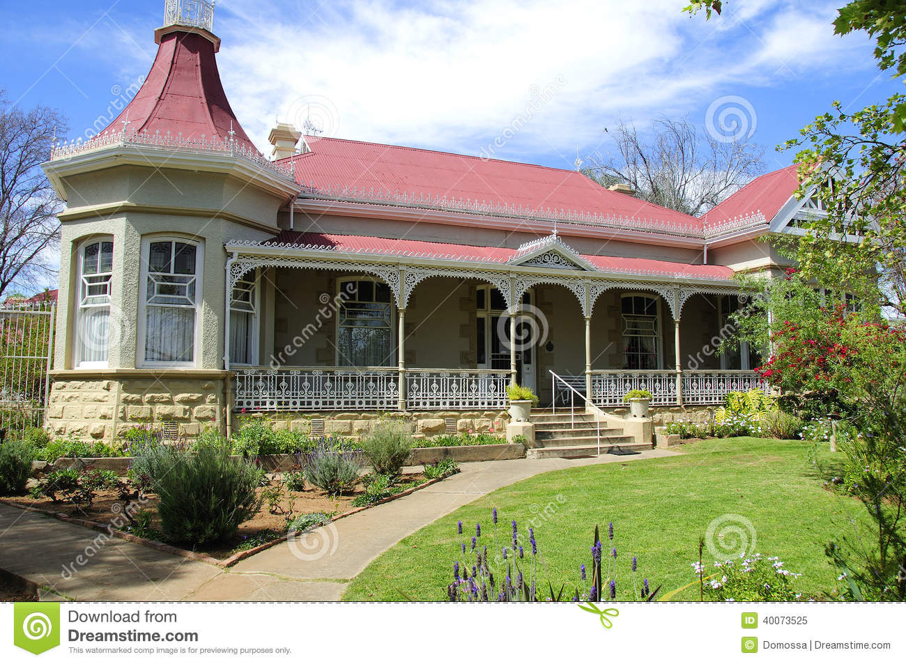 Ostrich Palace In The Klein Karoo South Africa Stock