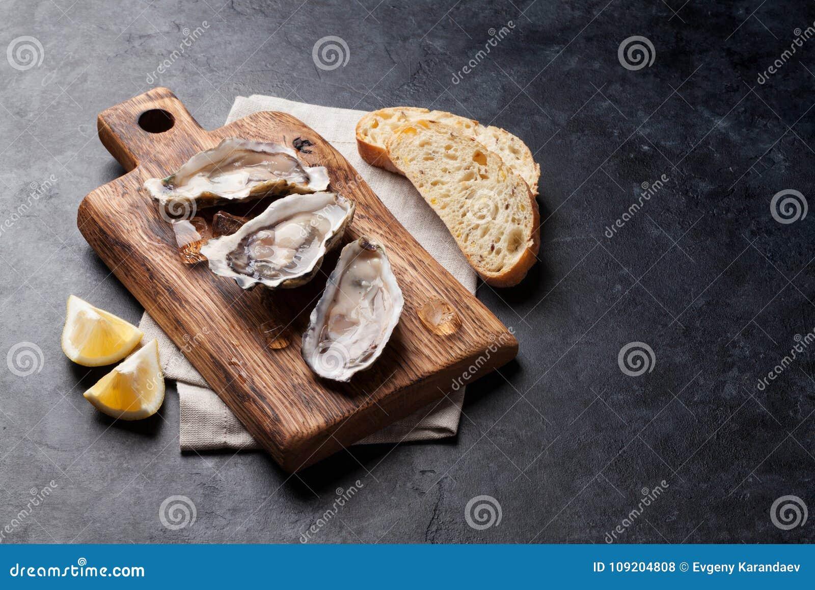 Ostron och citron
