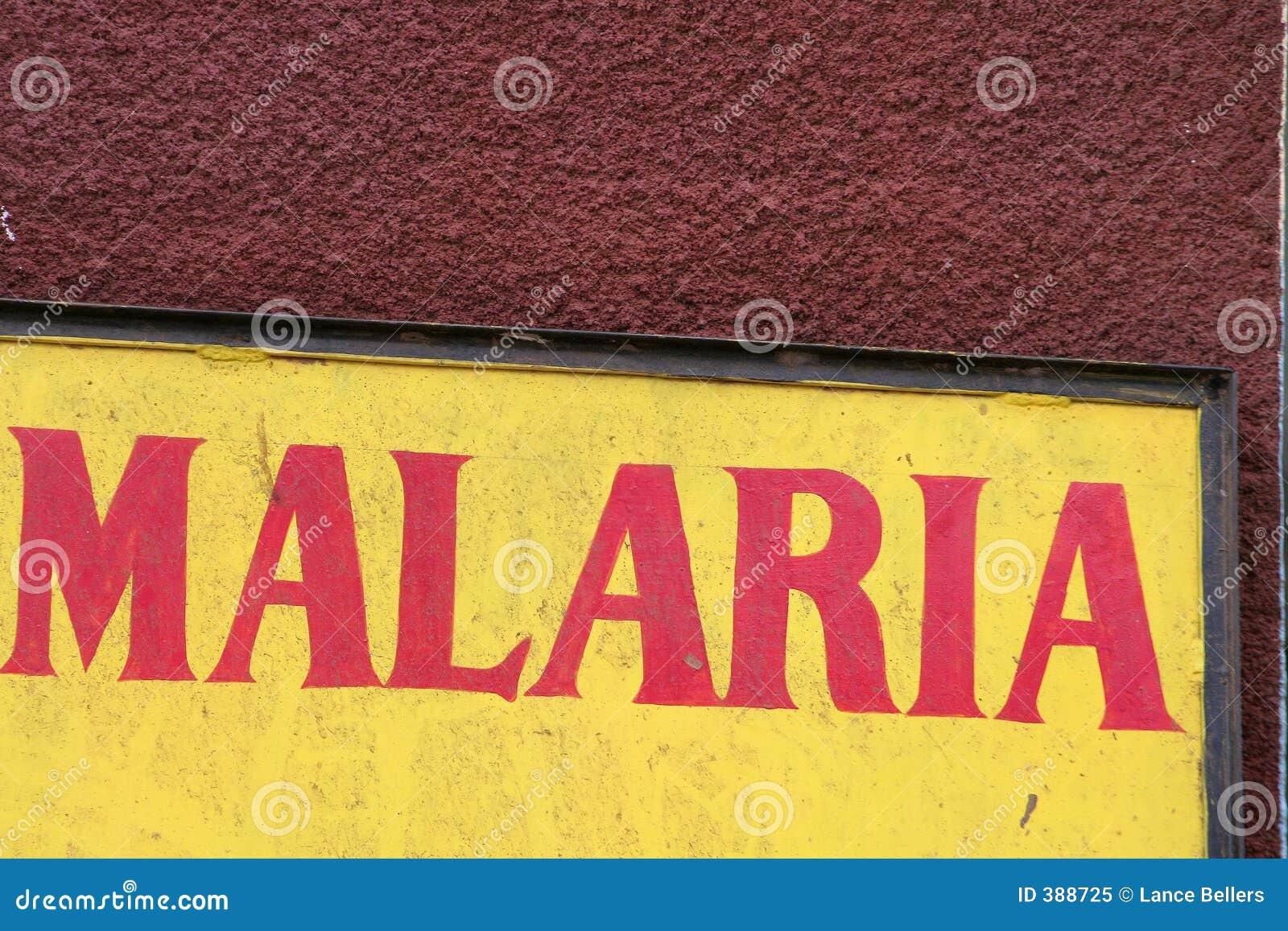 Ostrzeżenie malarii