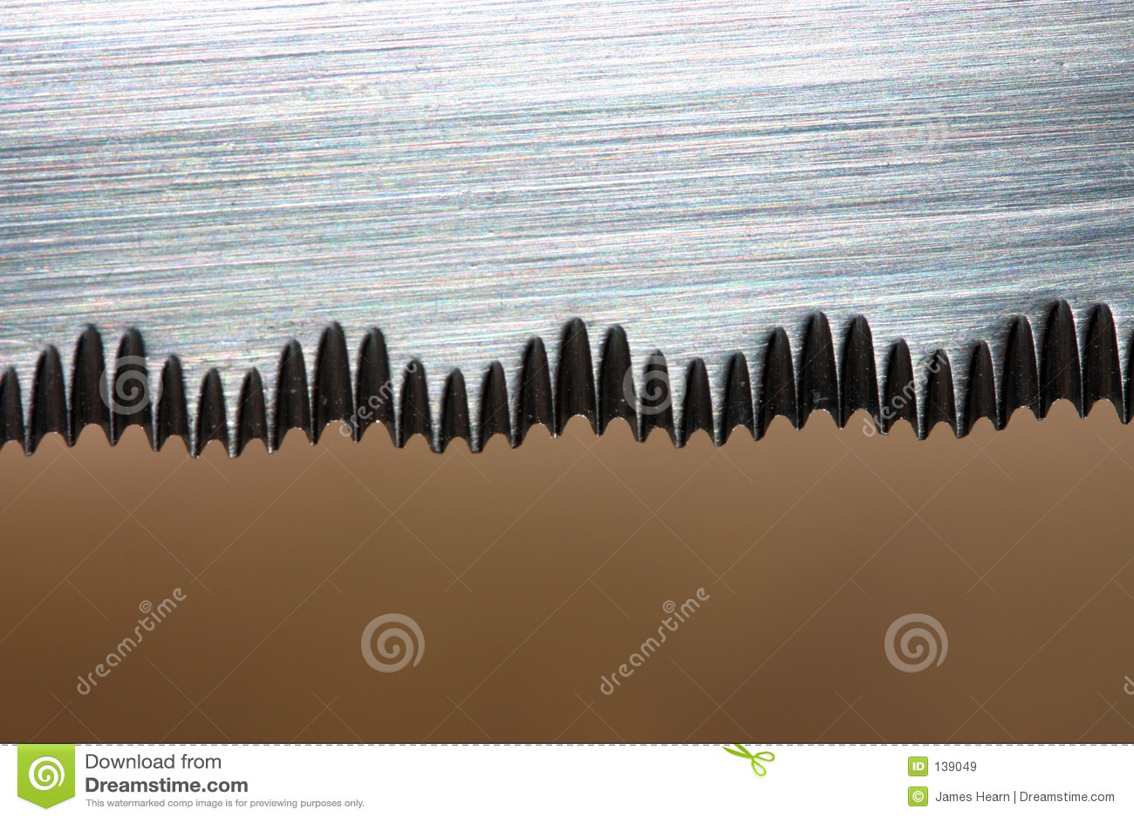 Ostrze noża serrated