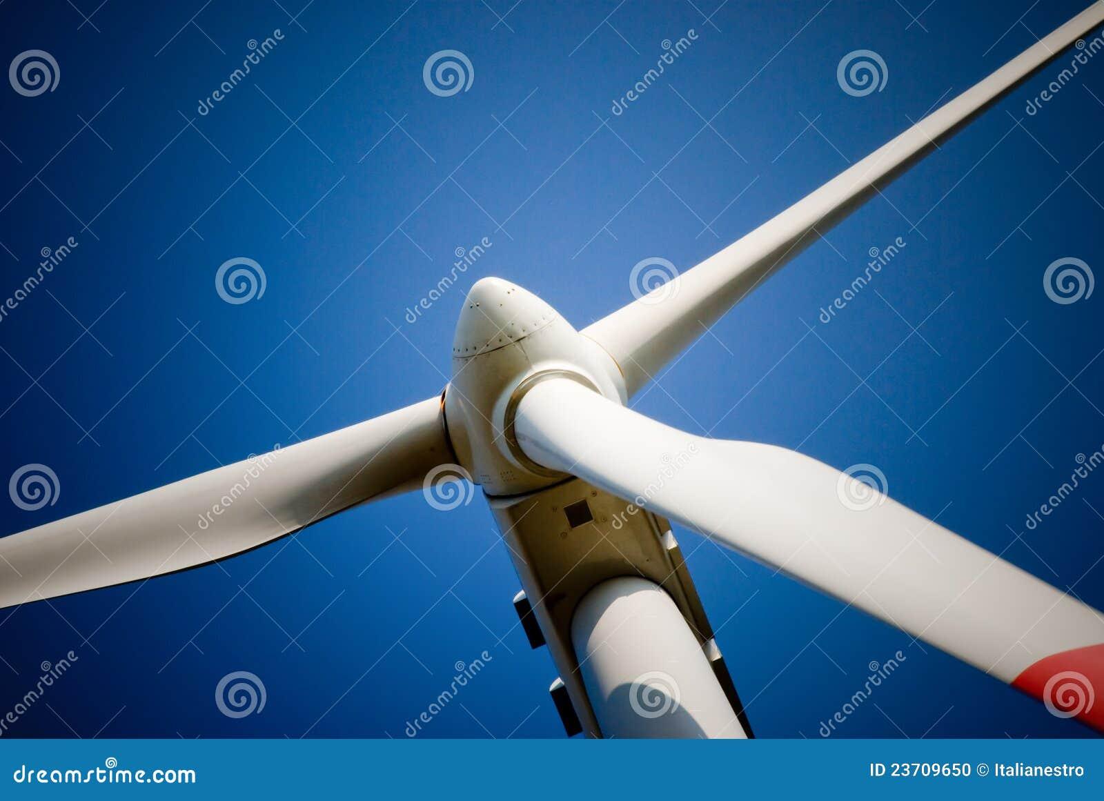 Ostrzy turbina wiatr