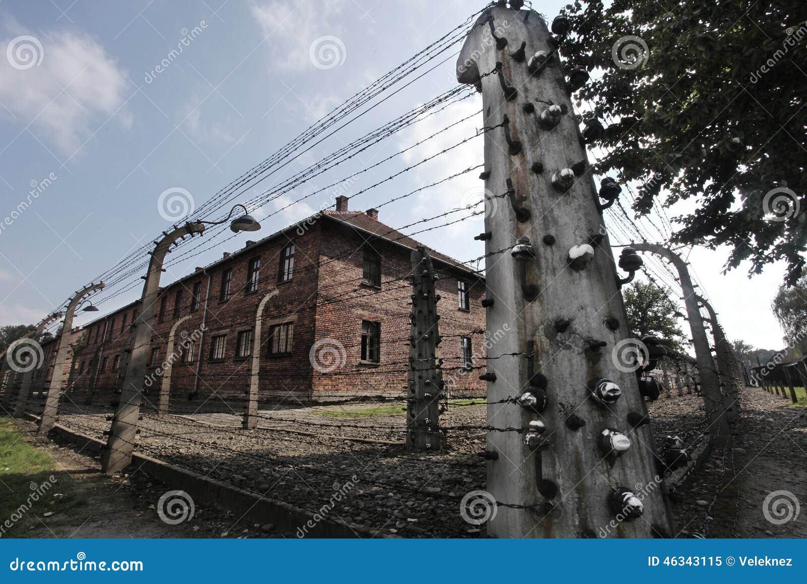 Oswiecim, het gebied van Polen Auschwitz