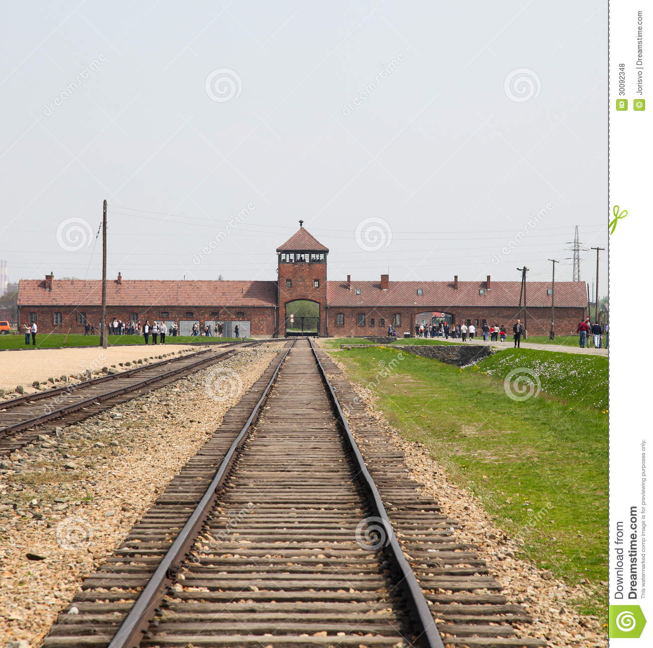 Where Was The Auschwitz Camp Located: Auschwitz Editorial Stock Photo. Image Of Genocide