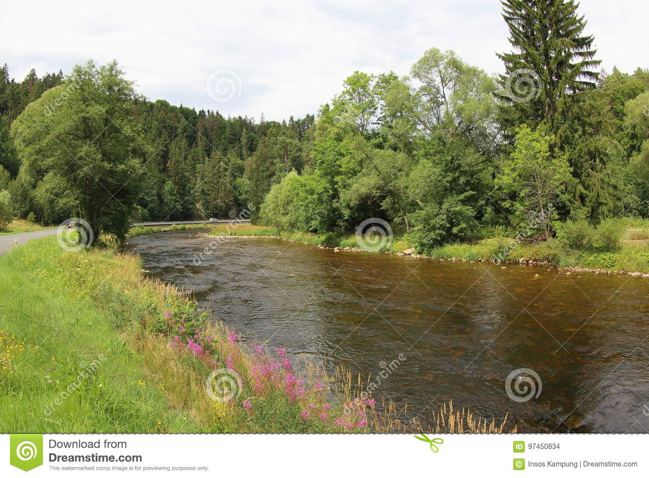 Otava River, Czech Republic