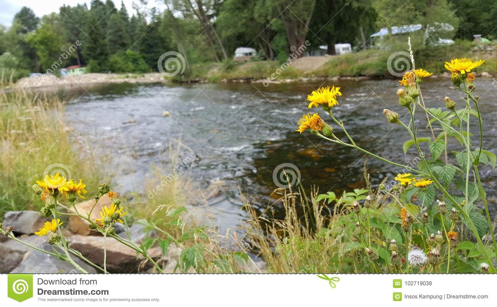 Otava River, Czech Republic