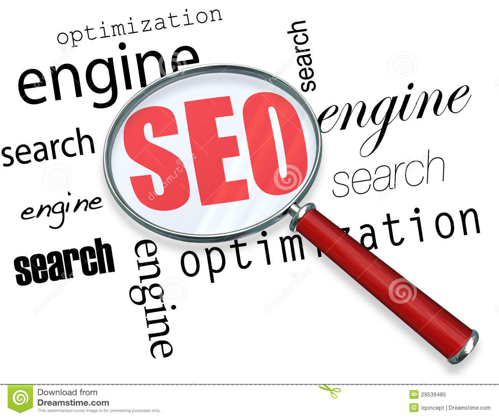 Otimização do Search Engine - lupa