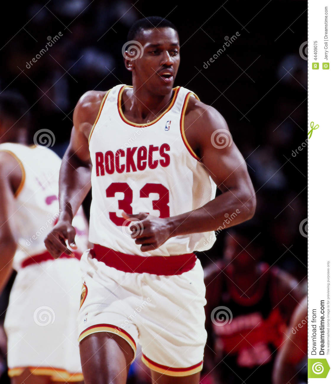 Otis Thorpe Houston Rockets Editorial Image Image