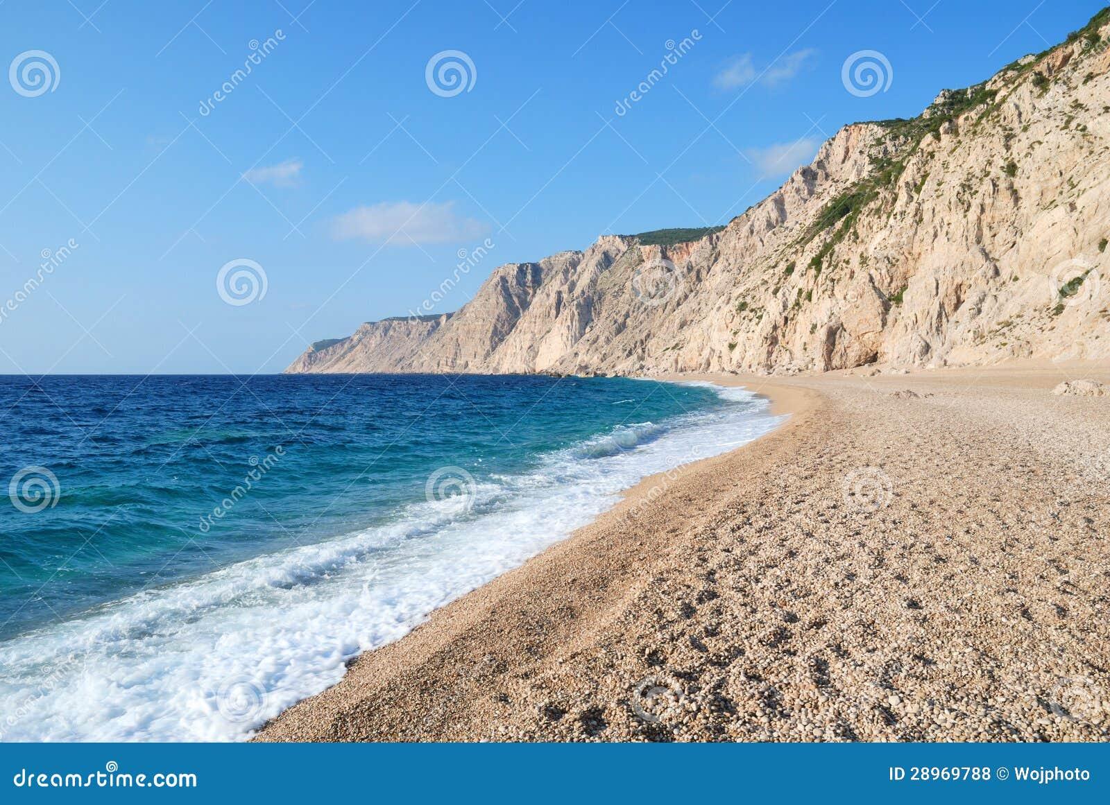 Otoczaki Plażowi i Błękitny morze