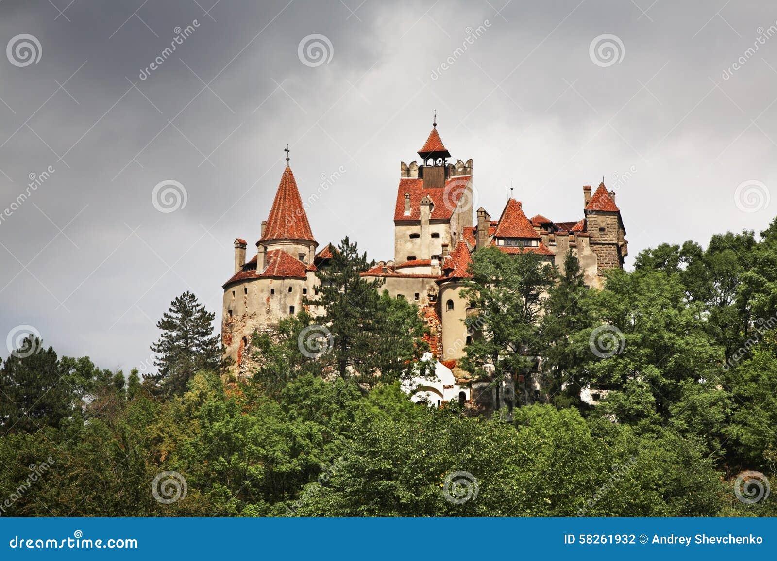 Otręby kasztel (kasztel Dracula) Rumunia