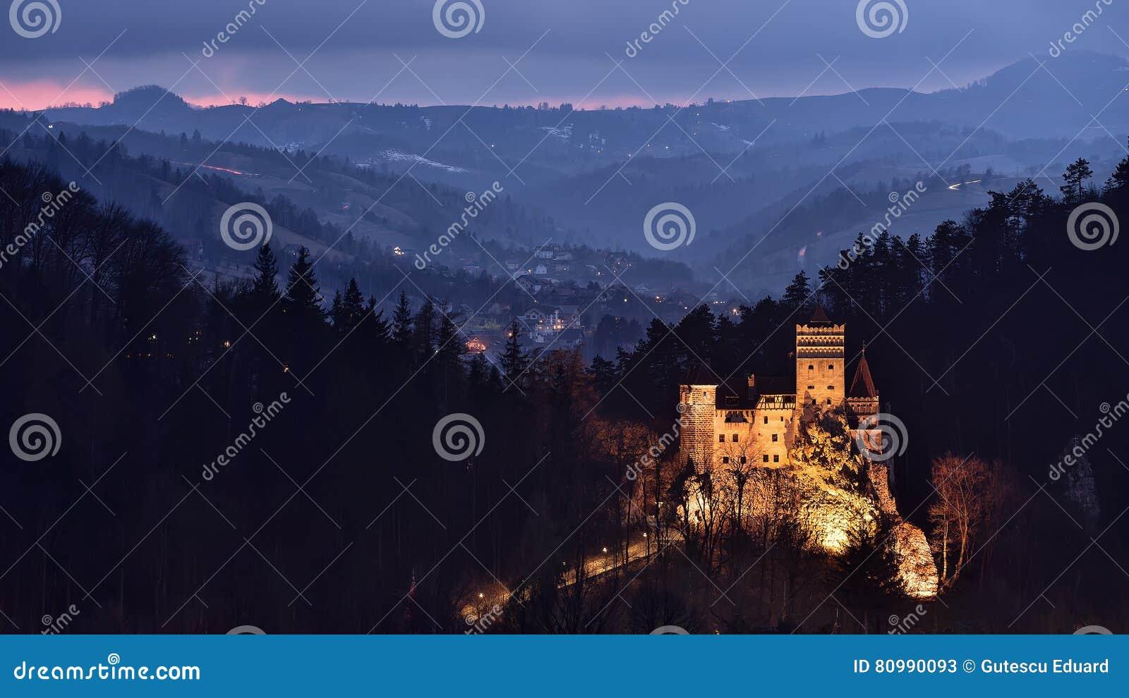 Otręby kasztel, Rumunia, Transylvania