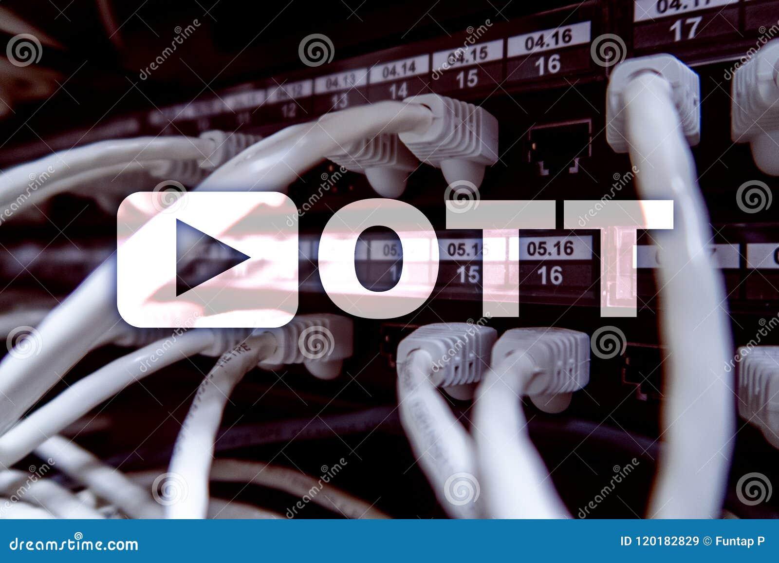 Ott Iptv Video Streaming Over The Internet Stock Illustration Wiring Diagram
