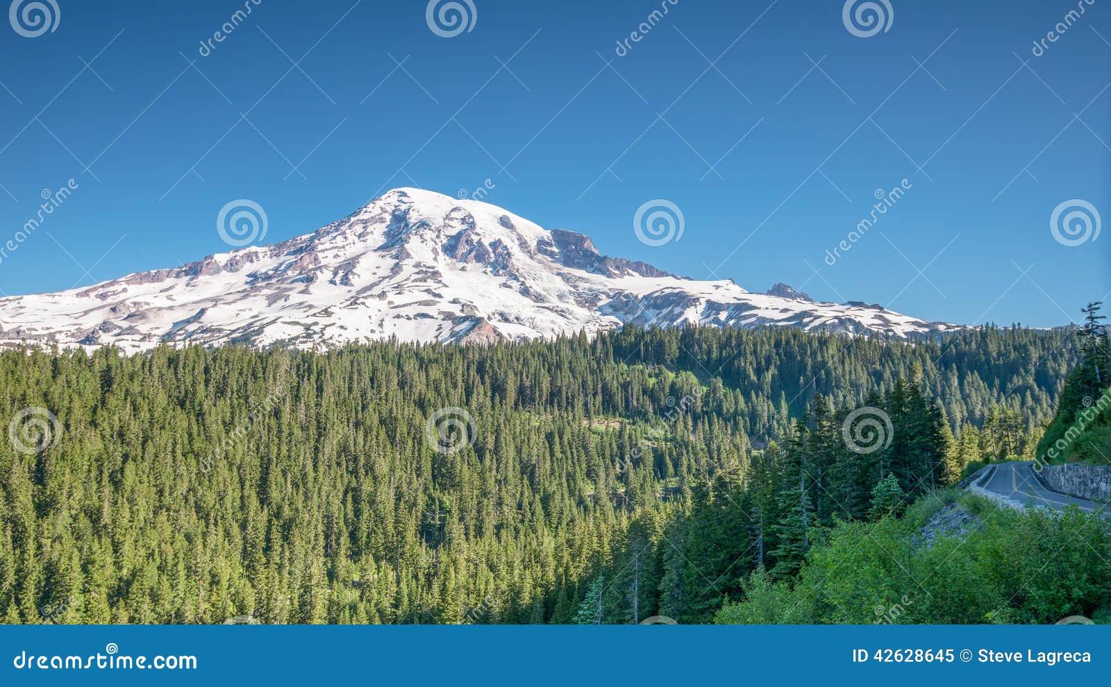 Otta på inspirationpunkt, Mount Rainier,