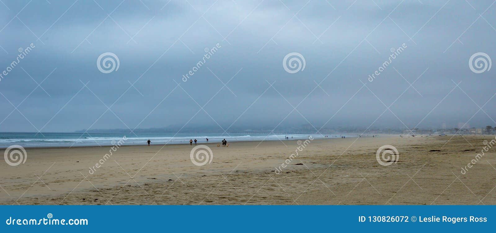 Ottamist på stranden